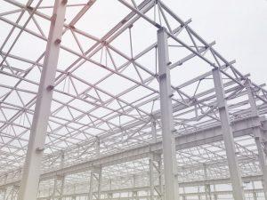 csarnok építés